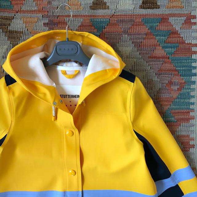 Marni(マルニ)のMARNI ✖︎ STUTTERHEIM ストゥッテルハイム コラボ コート レディースのジャケット/アウター(ロングコート)の商品写真