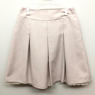 ハニーズ(HONEYS)のHoneys スカート Mサイズ GLACIER ベージュ(ひざ丈スカート)