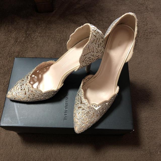 GRACE CONTINENTAL(グレースコンチネンタル)のブライダルシューズ 23cm グレースコンチネンタル レディースの靴/シューズ(ハイヒール/パンプス)の商品写真