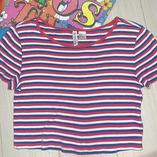 エイチアンドエム(H&M)のH&M ショート Tシャツ M (Tシャツ(半袖/袖なし))