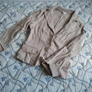 ♥麻のシンプルジャケット