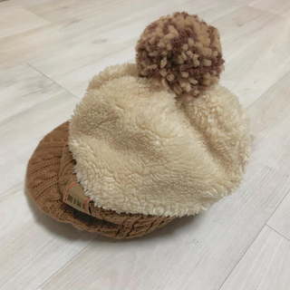 mikihouse - ミキハウス 帽子 ニット帽 ボンボン