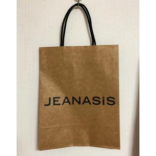 ジーナシス(JEANASIS)のショッパー(ショップ袋)