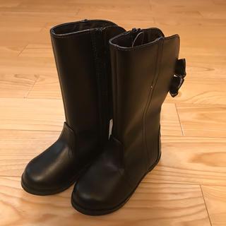 ブリーズ(BREEZE)の新品 ブリーズ  ブーツ 黒 15.0cm(ブーツ)