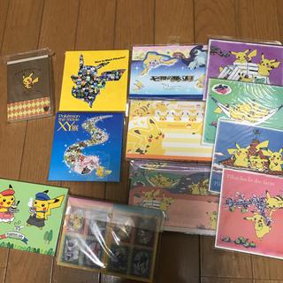 ポケモン(ポケモン)のポケモン メモ セット(ノート/メモ帳/ふせん)