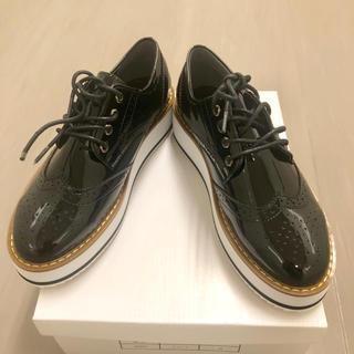 ディーホリック(dholic)の新品[DHOLIC]エナメル厚底シューズ /23センチ(ローファー/革靴)