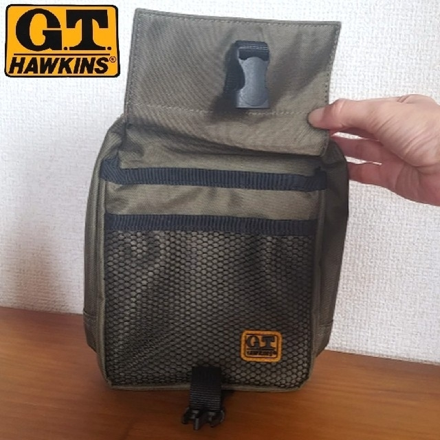 G.T. HAWKINS(ジーティーホーキンス)のG.T.ホーキンス マルチポーチ ウエストポーチ ポーチ サコッシュ ACE メンズのバッグ(ウエストポーチ)の商品写真