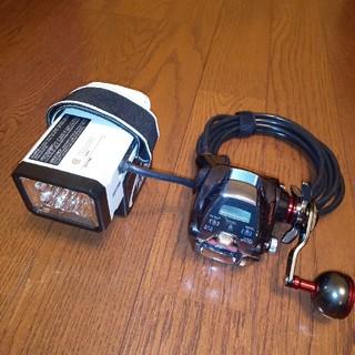 マキタ(Makita)の■ 電動リールアダプター  ライト付 ダイワ シマノ マキタバッテリー 対応(リール)