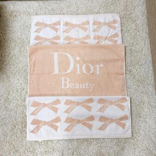 ディオール(Dior)のDIOR beauty◻︎大判肉厚バスタオル(タオル/バス用品)