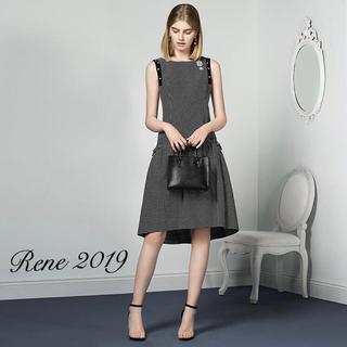 René - 新品同様【Rene】2019年ギンガムチェックワンピース