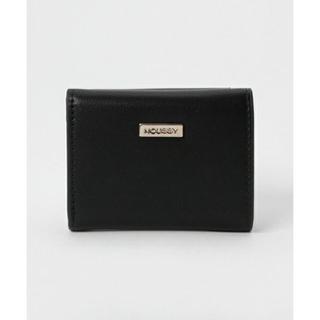 マウジー(moussy)の未使用マウジー moussyのミニ財布 ブラック(財布)
