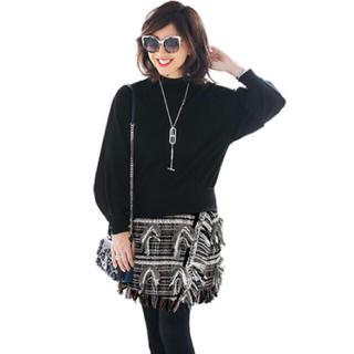 チェスティ(Chesty)のtaya様専用★チェスティ ツイードスカート ブラック 1 Chesty(ミニスカート)
