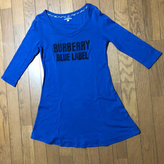 バーバリーブルーレーベル(BURBERRY BLUE LABEL)のトップス♪ロング丈(Tシャツ(長袖/七分))