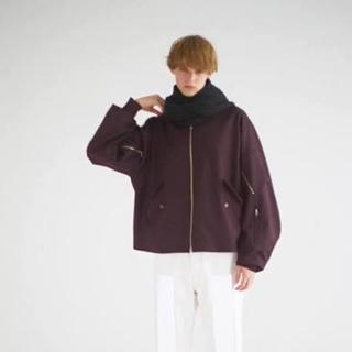 アンユーズド(UNUSED)のURU 17aw wool flight jacket(ブルゾン)