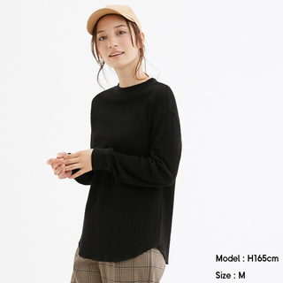 ジーユー(GU)の【*愛mama。様 専用】GU ワッフルロングスリーブT(Tシャツ(長袖/七分))