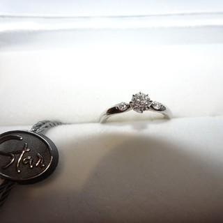 スタージュエリー(STAR JEWELRY)のスタージュエリー ダイヤモンド 0.259CT PT950 リング(リング(指輪))