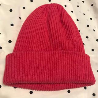 H&M - ピンクニット帽