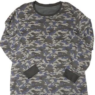 ※.様専用になりました※ユニクロ★ヒートテック カモフラ柄 長袖Tシャツ XL(Tシャツ/カットソー(七分/長袖))