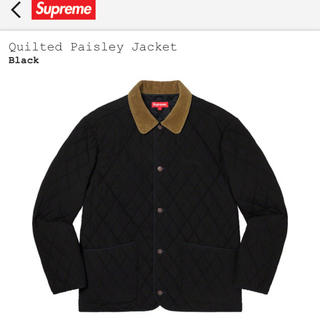 Supreme - supreme 19aw quilted paisley jacket L