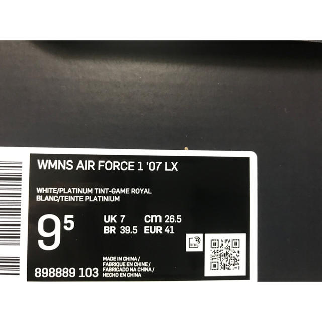 NIKE(ナイキ)のNIKE WMNS AIR FORCE 1 '07 LX レディースの靴/シューズ(スニーカー)の商品写真