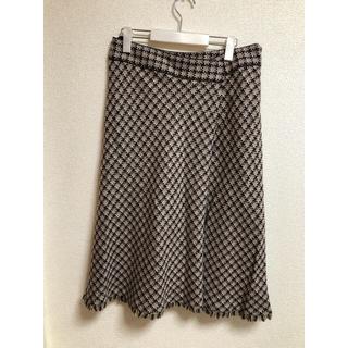 ニジュウサンク(23区)の23区  大きいサイズスカート(ひざ丈スカート)