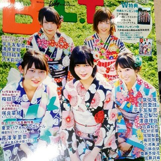 B.L.T.増刊 欅坂46版 2016年 09月号