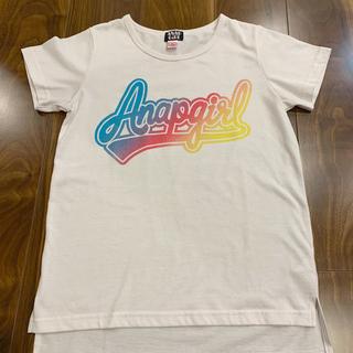 アナップ(ANAP)のアナップ ガール tシャツ(Tシャツ/カットソー)