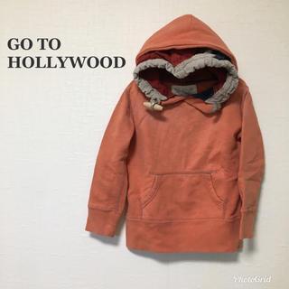 ゴートゥーハリウッド(GO TO HOLLYWOOD)のゴートゥーハリウッド 110 パーカー トレーナー スウェット(Tシャツ/カットソー)