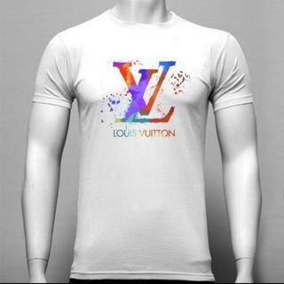 LOUIS VUITTON - 翌日発送 Tシャツ 半袖シャツ 白T サイズ L