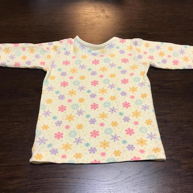 しまむら(シマムラ)のトップス 長袖 ロンT 女の子 80cm キッズ/ベビー/マタニティのベビー服(~85cm)(Tシャツ)の商品写真