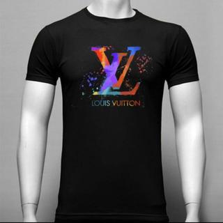 LOUIS VUITTON - 翌日発送 Tシャツ 半袖シャツ 黒T サイズ L