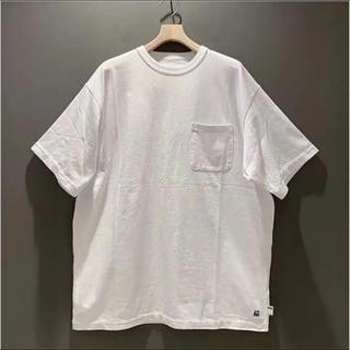 BEAMS - BEAMS SSZ × AH BIG TEE WHITE Tシャツ