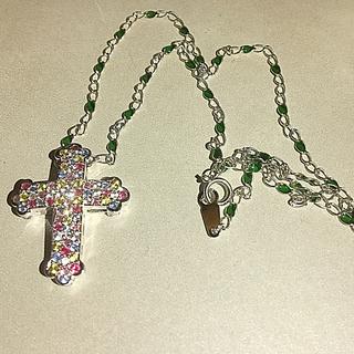 アヴァランチ(AVALANCHE)の十字架 18金 ホワイトゴールド ネックレス(ネックレス)