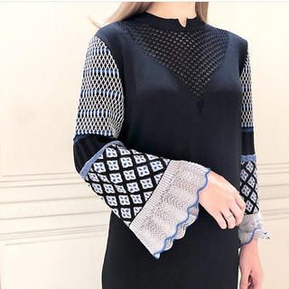 mame - 新品未使用 19FW mame  I-Line Knit Dress