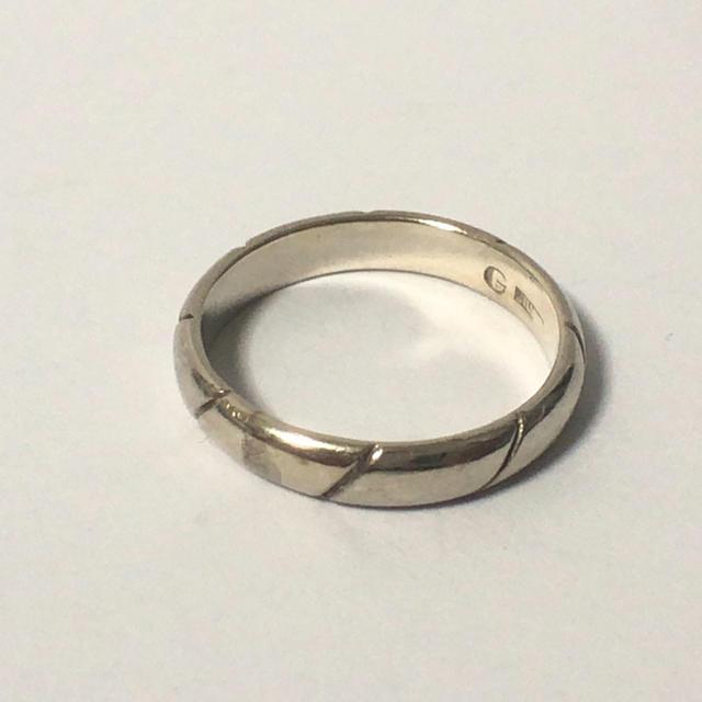 1128 シルバーリング シンプルデザイン  13号 レディースのアクセサリー(リング(指輪))の商品写真