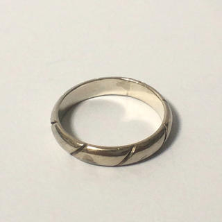 1128 シルバーリング シンプルデザイン  13号(リング(指輪))