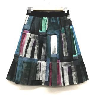 ANAYI - 新品 未使用 ANAYI アナイ 膝丈 スカート 黒 おしゃれ デート オフィス