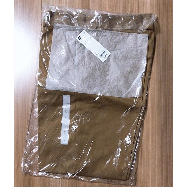 GU(ジーユー)の新品★GU チノストレートパンツ ベージュ L レディースのパンツ(チノパン)の商品写真