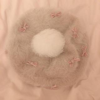 リズリサ(LIZ LISA)のリズリサ ベレー帽 ピンク(ハンチング/ベレー帽)