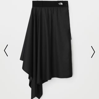 ハイク(HYKE)の新品未使用 ノースフェイス ハイク コラボ スカート ブラック M(ひざ丈スカート)