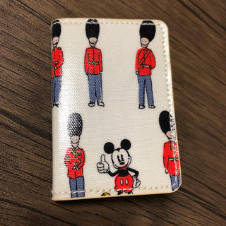 キャスキッドソン(Cath Kidston)のキャスキッドソン Disney カードケース(名刺入れ/定期入れ)