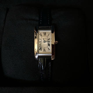 Cartier - タンクアメリカン  ミニ カルティエ