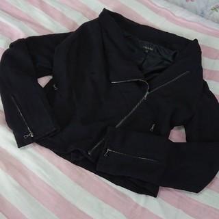 リエンダ(rienda)のリエンダ♥ライダースジャケット♥ブラック(ライダースジャケット)