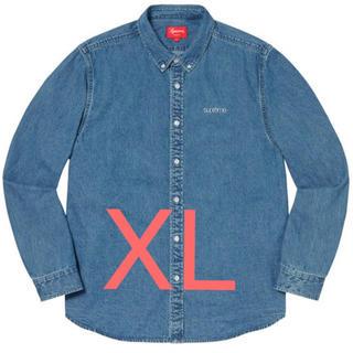 シュプリーム(Supreme)のSupreme Denim Shirt Blue シュプリーム XL デニム(シャツ)
