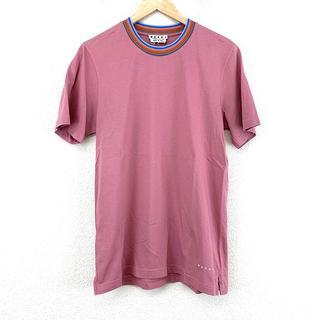 マルニ(Marni)の美品 MARNI マルニ 半袖 トップス ピンク シンプル おしゃれ 人気 定番(Tシャツ/カットソー(半袖/袖なし))