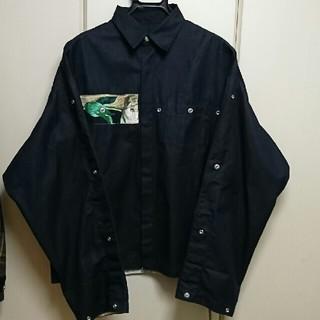 ALMOSTBLACK 17SS 刺繍シャツジャケット