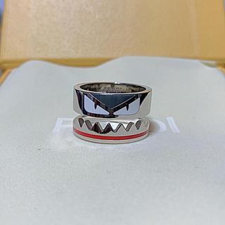 フェンディ(FENDI)のFENDI シルバー リング モンスター バグズ 指輪 美品(リング(指輪))