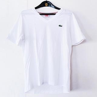 ラコステライブ(LACOSTE L!VE)のLACOSTE LIVE(ラコステライブ)白Tシャツ(Tシャツ/カットソー(半袖/袖なし))