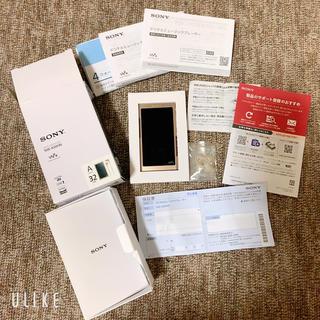 ウォークマン(WALKMAN)のソニーウォークマン 32GB NW-A46HN PM(ヘッドフォン/イヤフォン)
