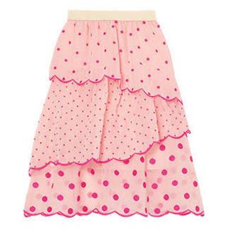 チェスティ(Chesty)の新品未使用chesty スカラップスカート(ひざ丈スカート)